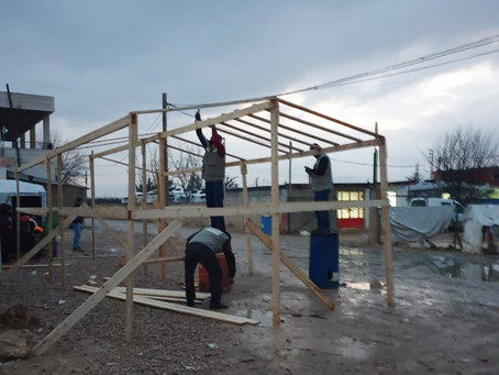 The storm did not stop the Schools Initiative in Lebanon