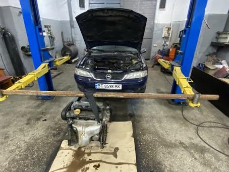 Замена ДВС в автомобиле Opel Vectra 1.8i