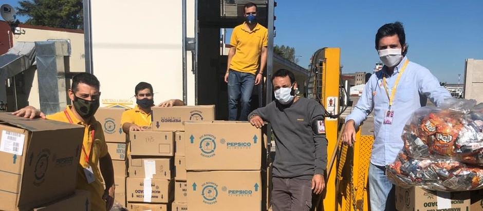 Donamos más de 7.000 alimentos!