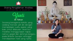 Mencari jati diri dengan Meditasi - Sharing oleh YANTI