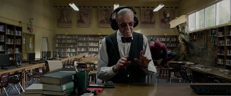 Stan Lee in The Amazing Spider-Man (Source: Columbia Pictures)