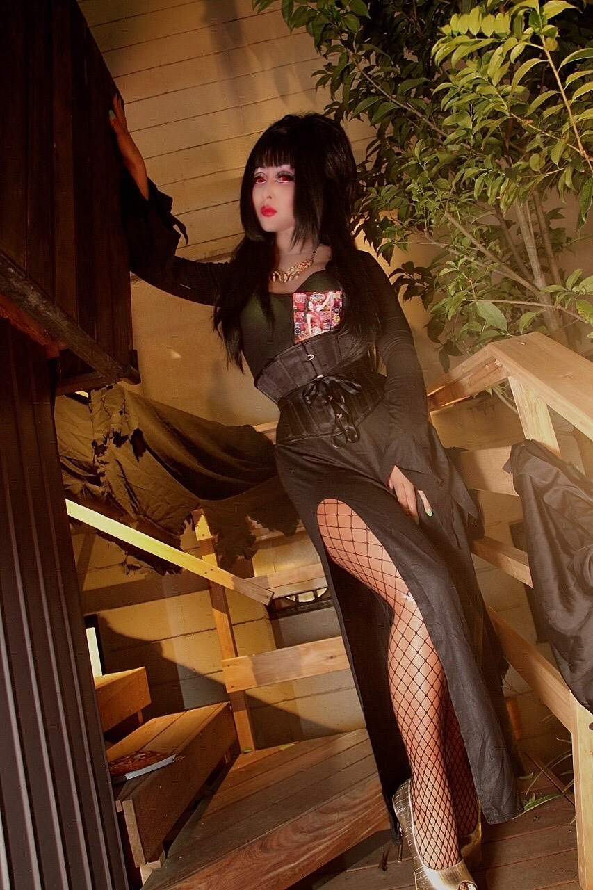 MiMi 【Elvira, Mistress of the Dark】Elvira,