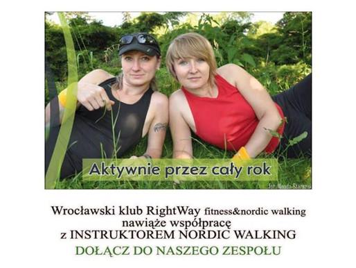 Prowadź treningi nordic walking wspólnie z nami - poszukujemy instruktorów NORDIC WALKING