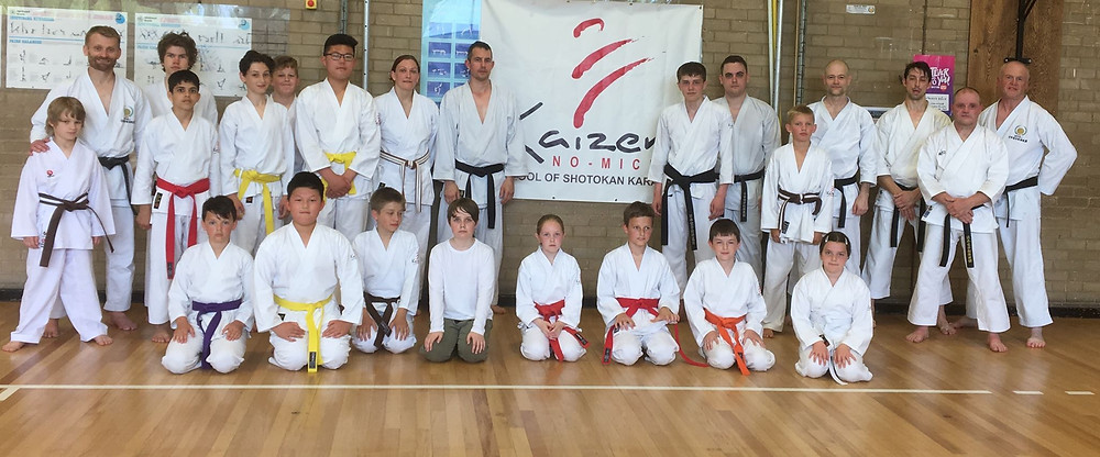 June Karate Course at Kaizen No-Michi, Grimsby