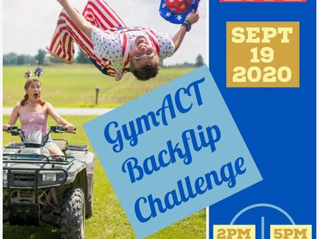 Back-Flip Challenge