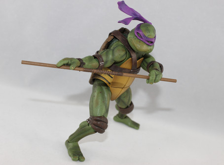 NECA: TMNT Donatello