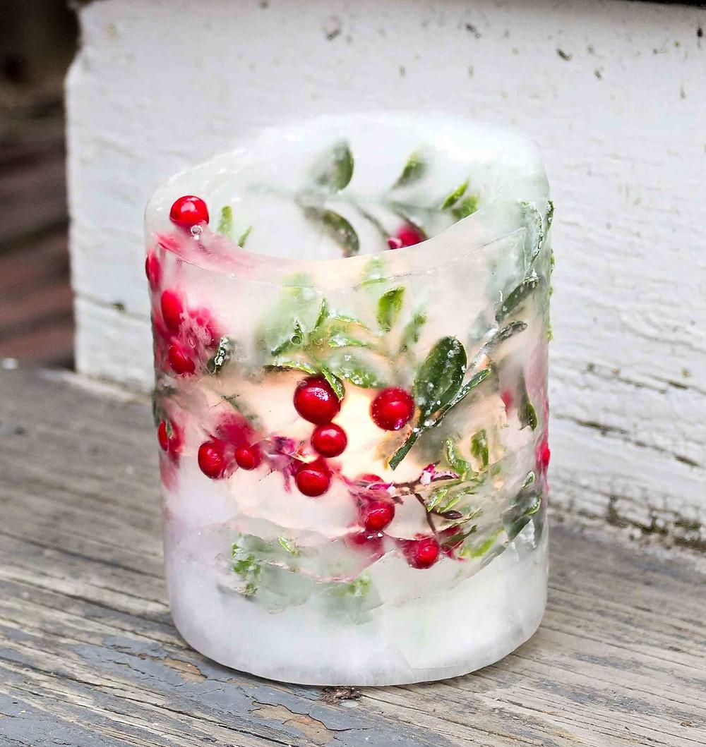 Christmas Ice Lantern Maker Ideas