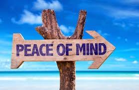 Peace of mind!