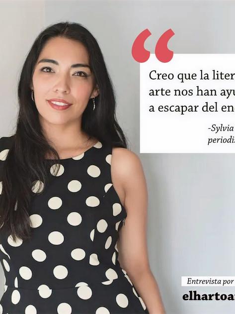 'La literatura y el arte nos ayudan a escapar del encierro': Sylvia Georgina Estrada