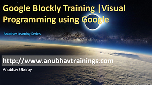 Google Blockly and Scrach Training