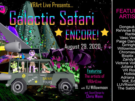 Galactic Safari Encore! with Burning Man's Dang Gang
