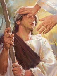 A Blind Man in Bethsaida Meets Jesus- Mark 8:22-26