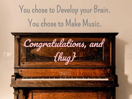 Whoo-hoo!!!  You Chose the Piano!
