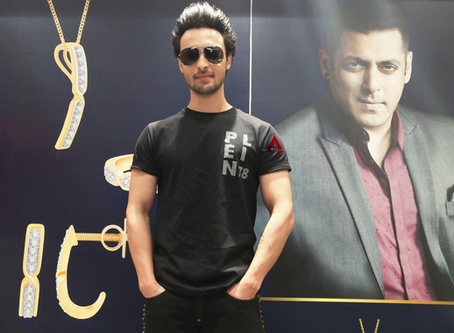 I'm Lucked out to be family with the Khan's - Aayush Sharma
