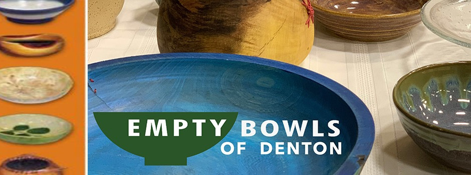 Empty Bowls of Denton goes Virtual this year - THANKS to ALL that participated....it was a success!!
