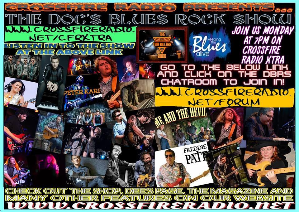 Docs promo poster, Crossfire Radio