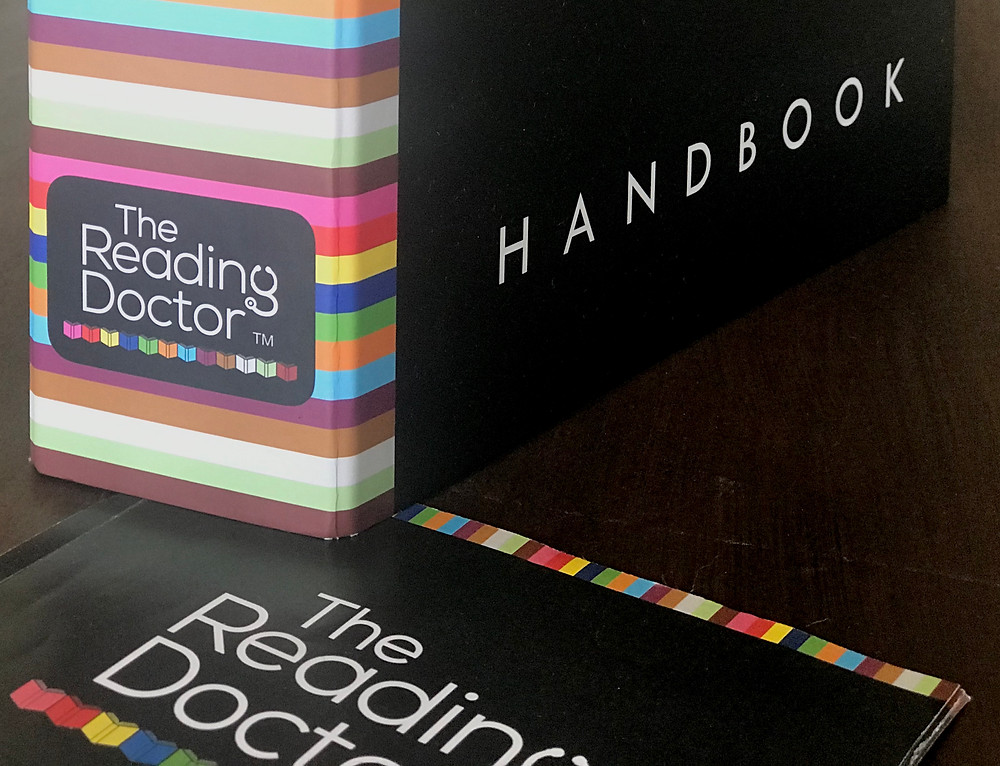 Completed design work for The Reading Doctor