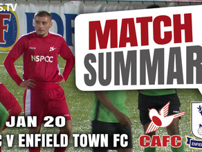 Match summary - Enfield Town