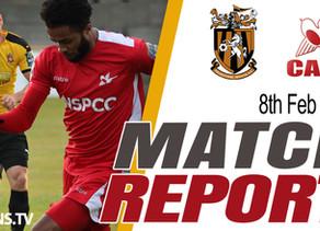 Match Report - Folkestone Invicta