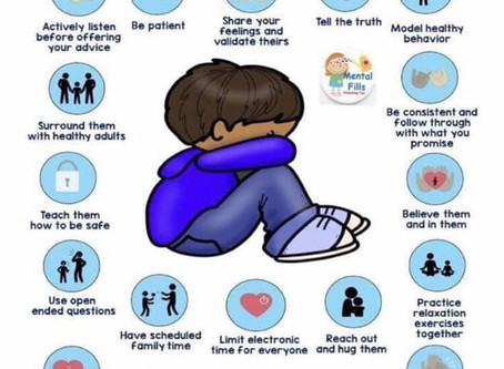 How can we nurture our child's mental health?