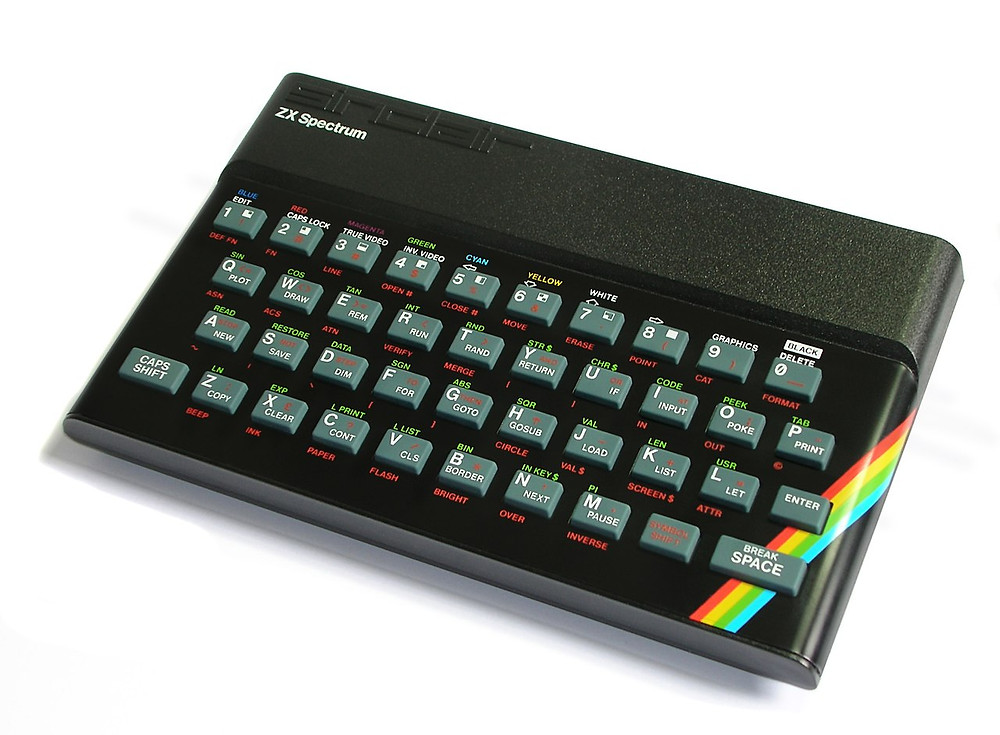 The rubber keyboard ZX Spectrum 16K/48K