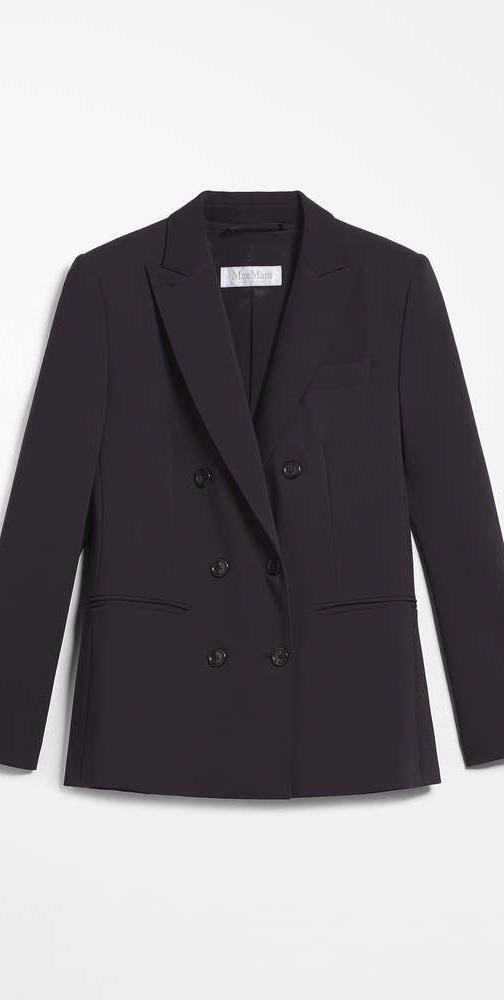 MAX MARA Crepe wool blazer