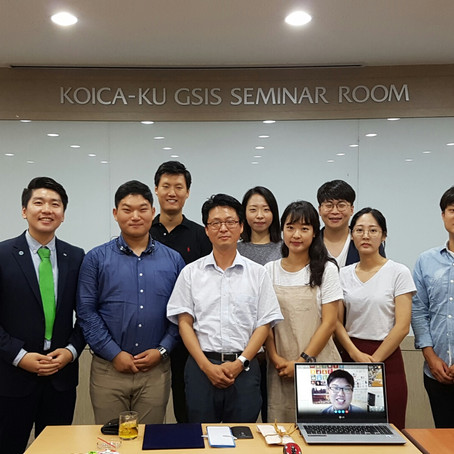 제 7차 멘토간담회 - 정서용 그린스쿨대학원 교수님