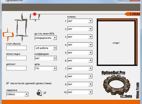 Торговый робот | OptionBot v2.2 | для Olymp Trade