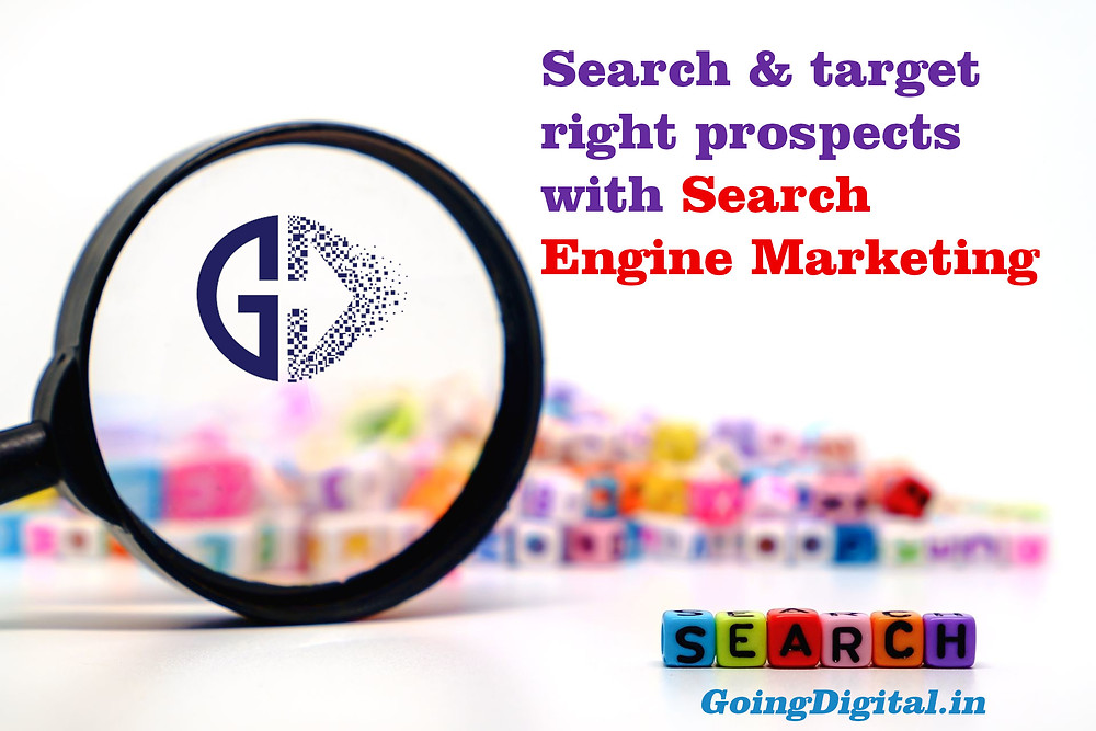 Search Engine Marketing services by Going Digital