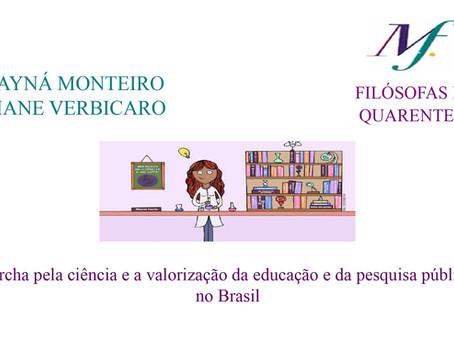 Marcha pela ciência e a valorização da educação e da pesquisa públicas no Brasil