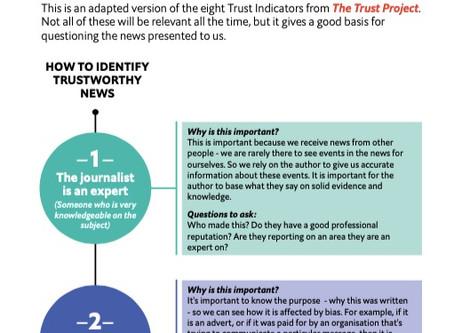 HOW TO IDENTIFY TRUSTWORTHY NEWS