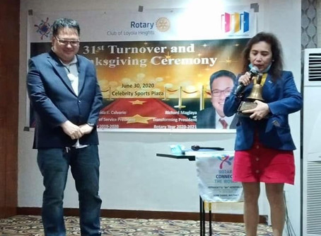 RCLH 31st Turnover & Thanksgiving Ceremony