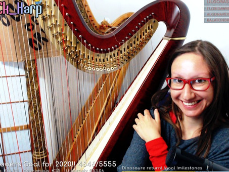 Harp from Bach to Zeppelin with Marlou CK