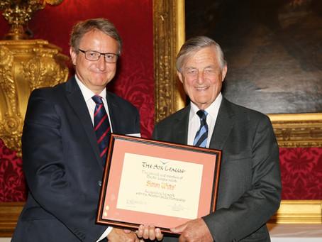 Air League Award for Simon Witts