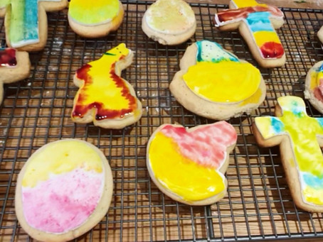 14 things to bake with the kids - Eggless iced sugar cookies