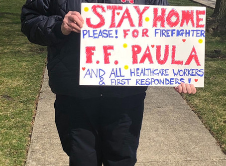 Firefighter Paula Tomczyk our hero!