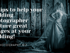 10 tips for your wedding day photography
