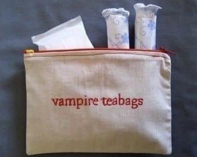 Vampire Tea Bags
