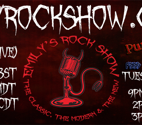 (Podcast) Emily's Rock Show (09/06 + 09/08)