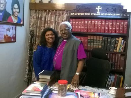 Pioneer Church Planter in India - A meet with Bishop Ezra Sargunam