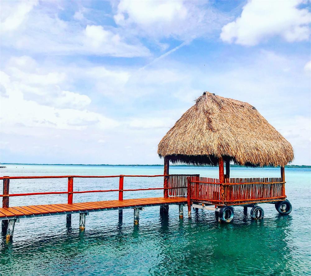 Peeplo Talks- Laguna De Los Siete Colores, Bacalar, Mexico - Bawra Musafir