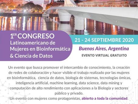 Primer Congreso Latinoamericano de Mujeres en Bioinformática & Ciencias de Datos