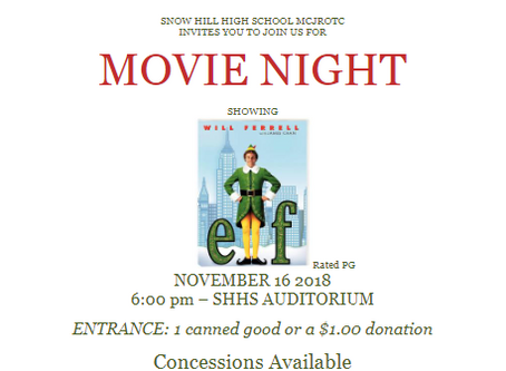 MCJROTC Movie Night