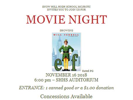 MCJROTC Movie Night