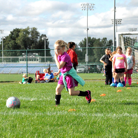 Youth Soccer Sets Up Success