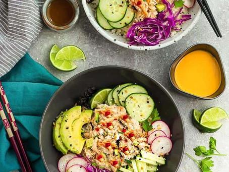 Low Carb Sushi Bowls