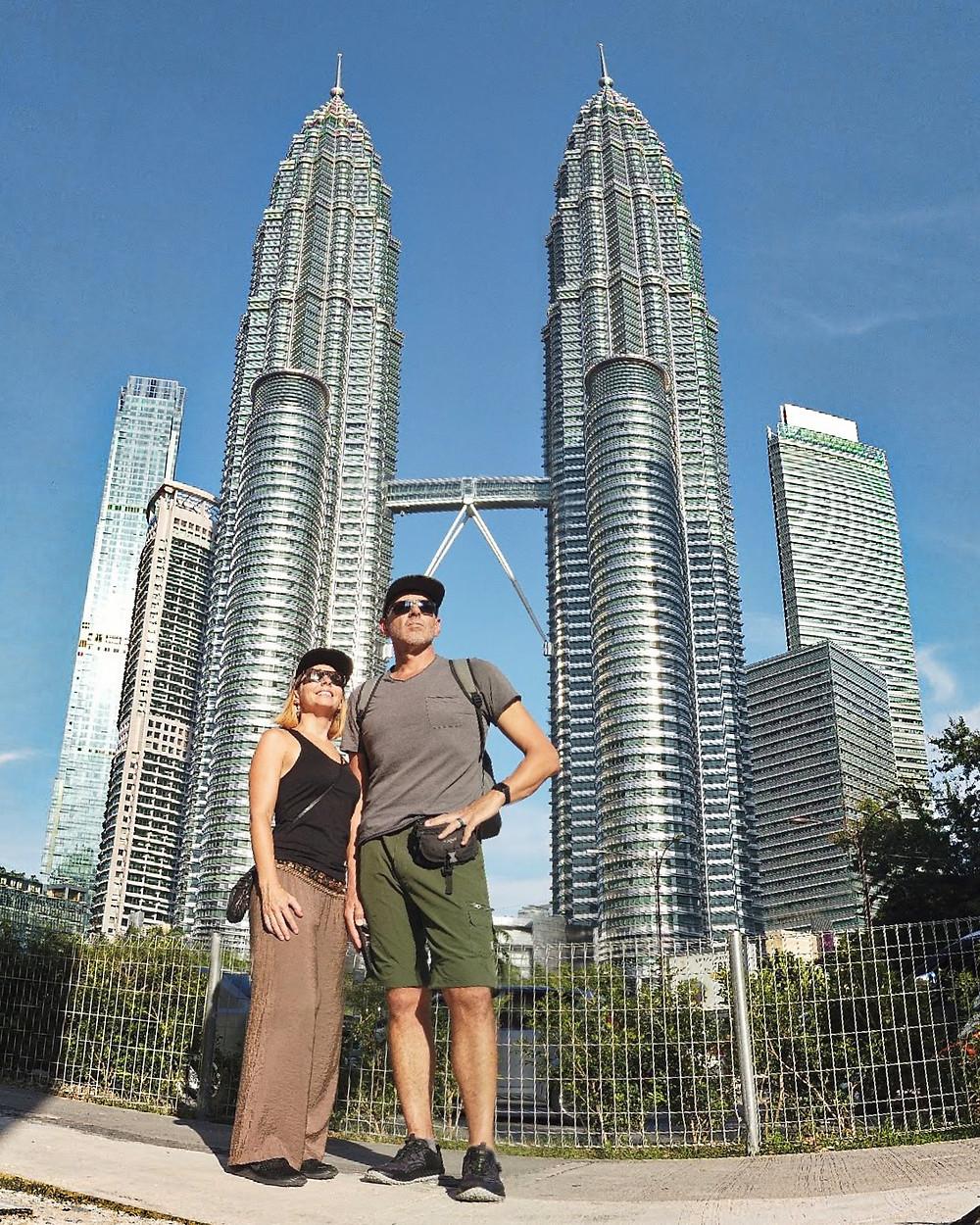 kuala lumpur petronas twin towers klcc