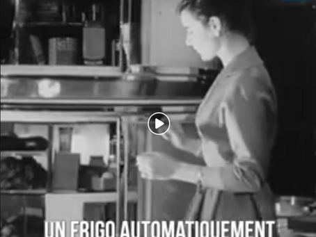 Retro futurism - connected kitchen from 1957