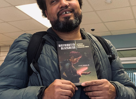 LMC's André Brock publishes Distributed Blackness with NYU Press