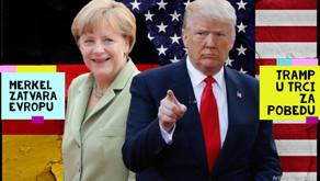 Udarna Vest Angela Merkel zatvara Evropu u Karantin Donald Tramp nece biti isto posle 4 Novembra